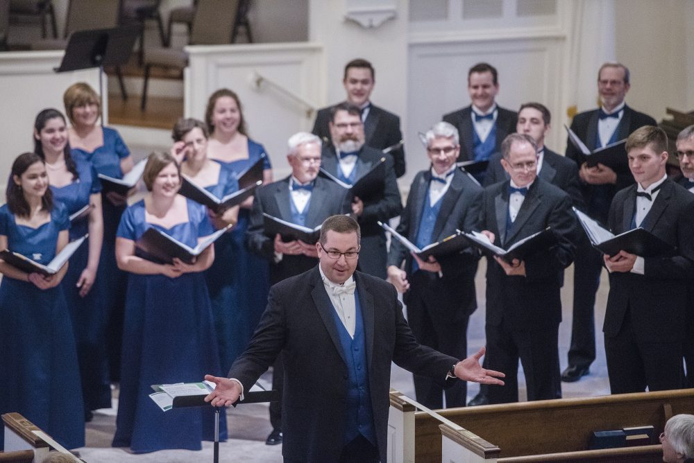 Blue Ridge Singers in Front Royal - Spring 2017
